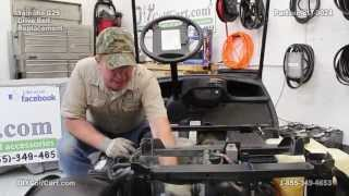 9. Yamaha Drive Belt | How to Install on G29 Golf Cart