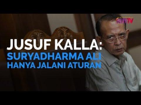 JK: Suryadharma Ali Hanya Jalani Aturan