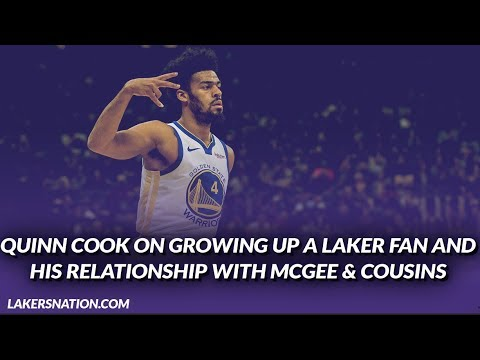 Video: Lakers Interview: Quinn Cook Talks About Growing Up a Laker Fan His Relationship w/ JaVale & Boogie