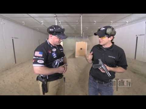 competitionready - PARA USA's Travis Tomasie shows off two 1911s - the Elite Pro and the Pro Custom 16-40. For more info, visit http://para-usa.com/firearms/custom/custom1640.p...