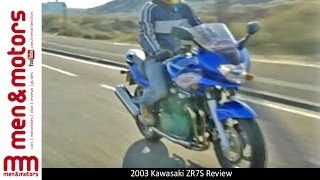6. 2003 Kawasaki ZR7S Review