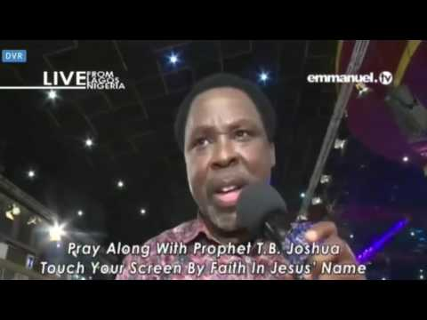 Pray Along With Prophet TB Joshua  Kick The Devil out of Your Life