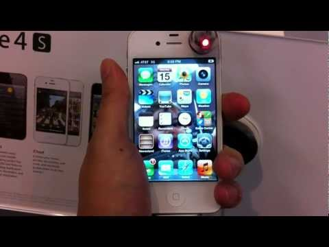 antennagate - AT&T version of the iPhone 4S Death Grip Antenna Gate test. The location is Flushing Queens NY. The iPhone 4S and my own AT&T iPhone 4 both have 4 out of 5 b...