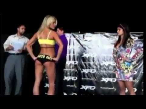 Felice Herrig Now Famous Weigh-In Video APOCALYPSE MMA.com