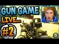"""ACTION PACKED"" - Gun Game LIVE w/ Ali-A #2! - (Call of Duty: Ghost)"
