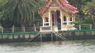 Travelling Down The Chao Phraya River Just North Of Bangkok, Thailand II