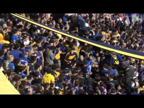 Boca Bolivar Lib16 / Gol de Carrizo - Suben y bajan - Vals - La 12 - Boca Juniors