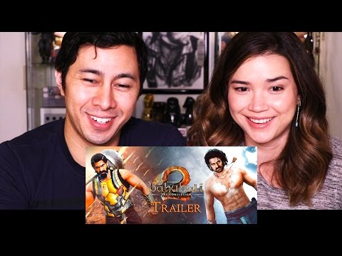 BAHUBALI 2 - THE CONCLUSION | Trailer Reaction & Discussion