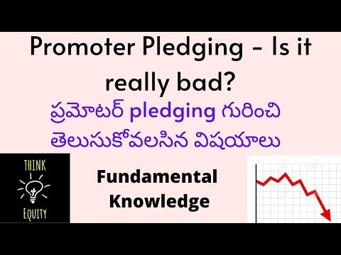 ప్రమోటర్ pledging - How to understand ప్రమోటర్ pledging.