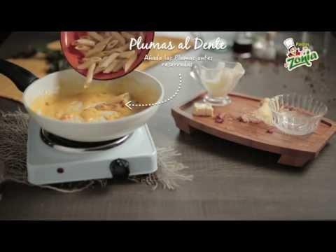 Video - Receta plumas a la carbonara - Pastas Zonia