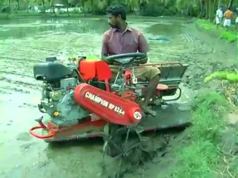 Rice Transplanter India | CHAMPION RP 824 | Redlands Ashlyn Motors Plc