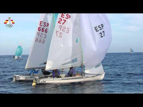 Especial Olímpicos. Clase 470 Sofia Toro-Laura Sarasola