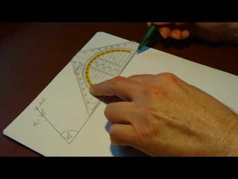 winkel messen und zeichnen ii. Black Bedroom Furniture Sets. Home Design Ideas
