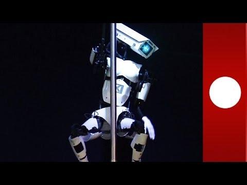 Rúdtáncoló robot