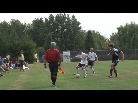 Alma College Men's Soccer - September 16, 2012