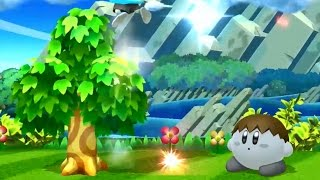 Kirby can water Villager's tree and use it against him/her. It becomes Kirby's hitbox as it rises.