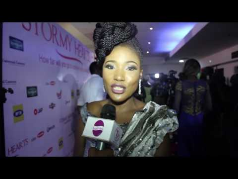 "TP-MEDIA : Judith Audu  Movie premiere ""Stormy Hearts"""