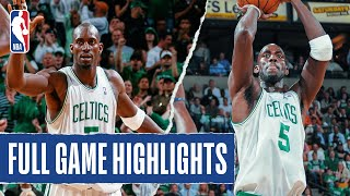 Kevin Garnett Leads Celtics to Game 5 Victory! #20HoopClass by NBA