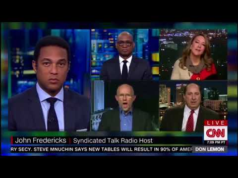 ‪DON LEMON DESTROYS JOHN FEDERICKS AFTER HE TRIES TO DEFEND RACIST REMARKS FROM DONALD TRUMP!!! ‬