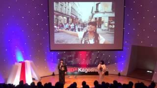 大島紬×鹿児島弁 | Ogojos | TEDxKagoshima
