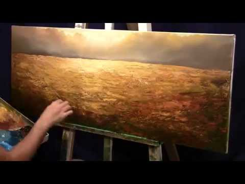 How to Paint Forest Landscape – Time Lapsed Painting