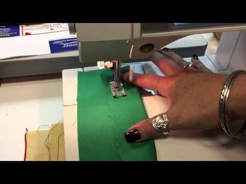 PFAFF 2054 PERFORMANCE SEWING MACHINE German - VIDEO TEST -