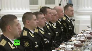 Путин поблагодарил российских военнослужащих за работу в Сирии