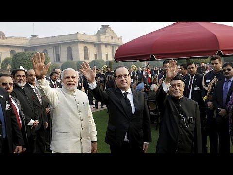 Γαλλία – Ινδία: σύσφιξη διπλωματικών και εμπορικών σχέσεων