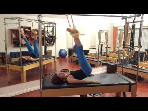 Half And Full Hanging On The Cadillac – Lesley Logan Pilates