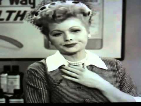 Lucille Ball Vitameatavegamin Watch The Video