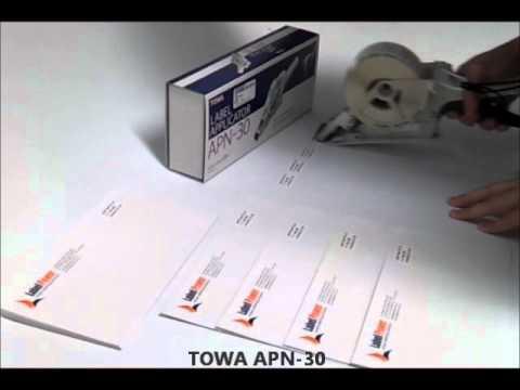 Towa Label Applicators by Label Power