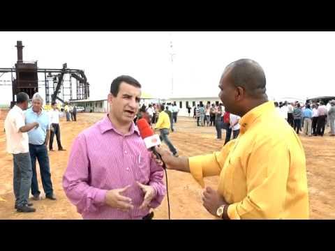 Prefeito Edvaldo Carvalho comemora a chegada da Ibirálcool em Ibirapuã