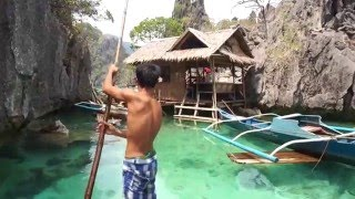Coron Philippines  City new picture : Fishing with a native man in Coron, the Philippines