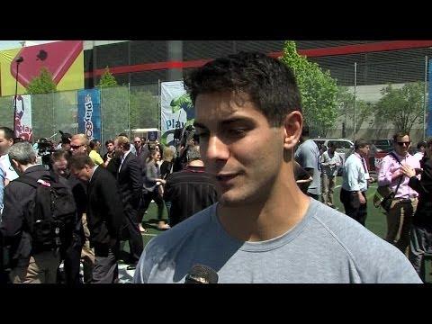 Jimmy Garoppolo Interview 5/7/2014 video.