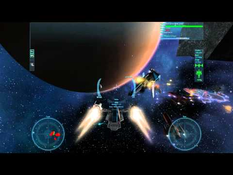 Video of Vendetta Online (3D Space MMO)