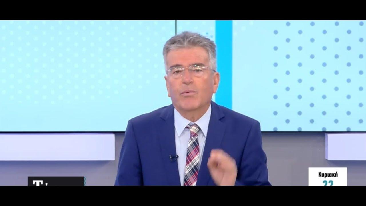 Ο Χρήστος Μελάς στον τηλεοπτικό σταθμό OPEN για μηδενικό ΦΠΑ