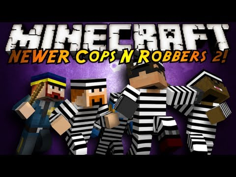 Minecraft Mini-Game : COPS N ROBBERS 3.0 ROUND TWO!