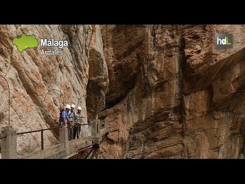Drohnen für die Restaurierungsarbeiten des Caminito del Rey, einem der gefährlichsten Klettersteige der Welt