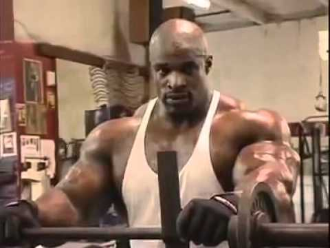 bodybuilding arm routine - http://www.facebook.com/bodybuilding.video Ronnie coleman workouts biceps in gym.