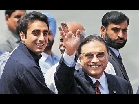 Asif Zardari & Bilawal Bhutto Zardari Arrives at Naudero House
