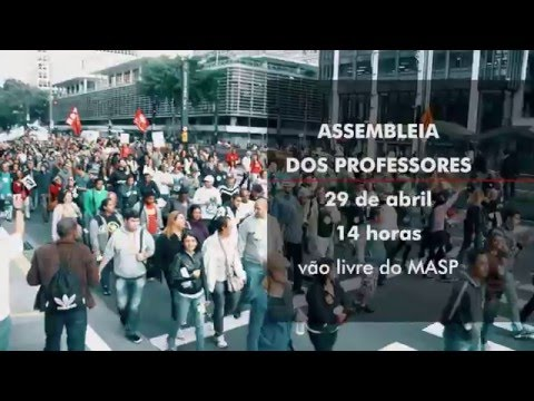 Assembleia dos Professores 29 de abril de 2016