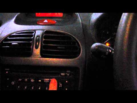how to vin code peugeot cd player