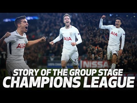 Video: UEFA CHAMPIONS LEAGUE | SPURS' GROUP STAGE STORY
