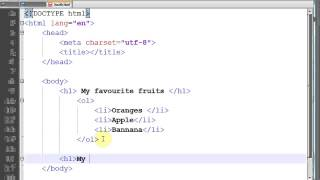 HTML 5 And CSS 3 Tutorial 4 In Urdu Hindi