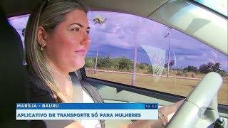 Aplicativo de transporte exclusivo para mulheres começa a operar na região