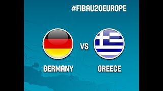 Watch FULL VIDEO Germany vs Greece  39'50''at the FIBA #FIBAU20 European Championship 2017