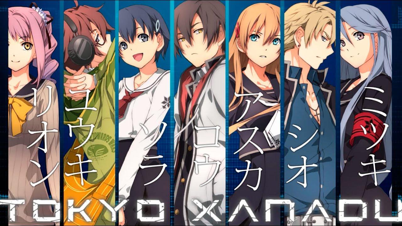 ตัวอย่างเกม Tokyo Xanadu