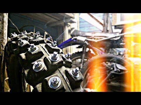 Как сделать шипы на мотоцикл иж
