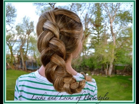 Braided Hairstyles:  Puff Dutch Braid