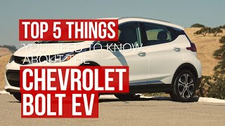 Five things to know about the pure electric Chevrolet Bolt by Roadshow